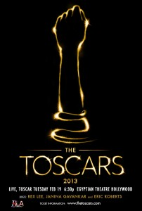 Official Toscar Poster Brits In LA The Toscars International Photographer