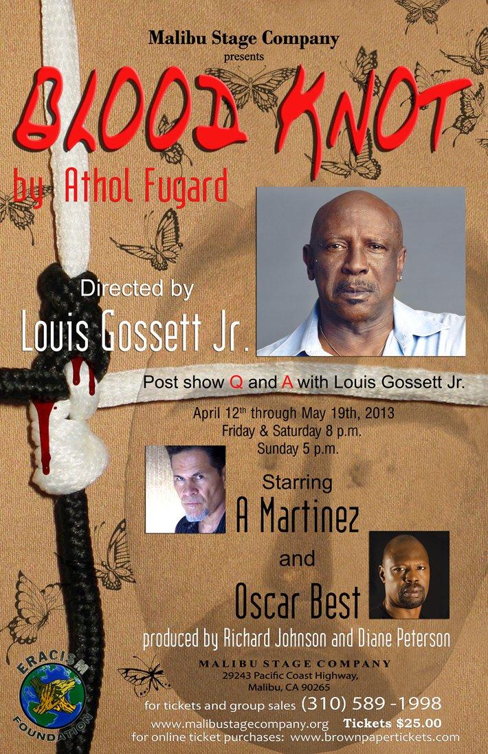 Blood Knot Louis Gossett Jr Malibu Playhouse