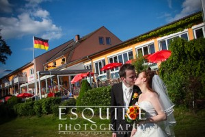 Destination Wedding Photographer Mirow Germany Strand Hotel