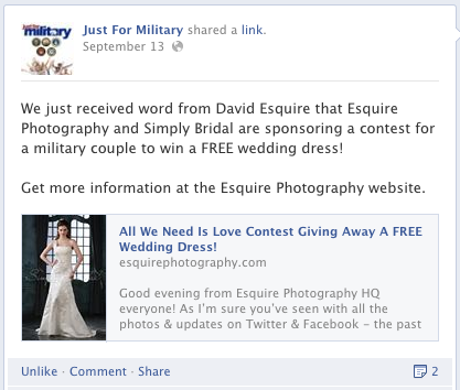 Just For Military Free Wedding Dress Simply Bridal