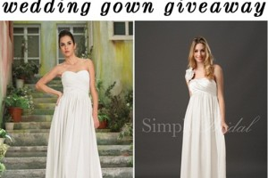 wedding dress giveaway Simply Bridal Newport Beach Wedding Photographer