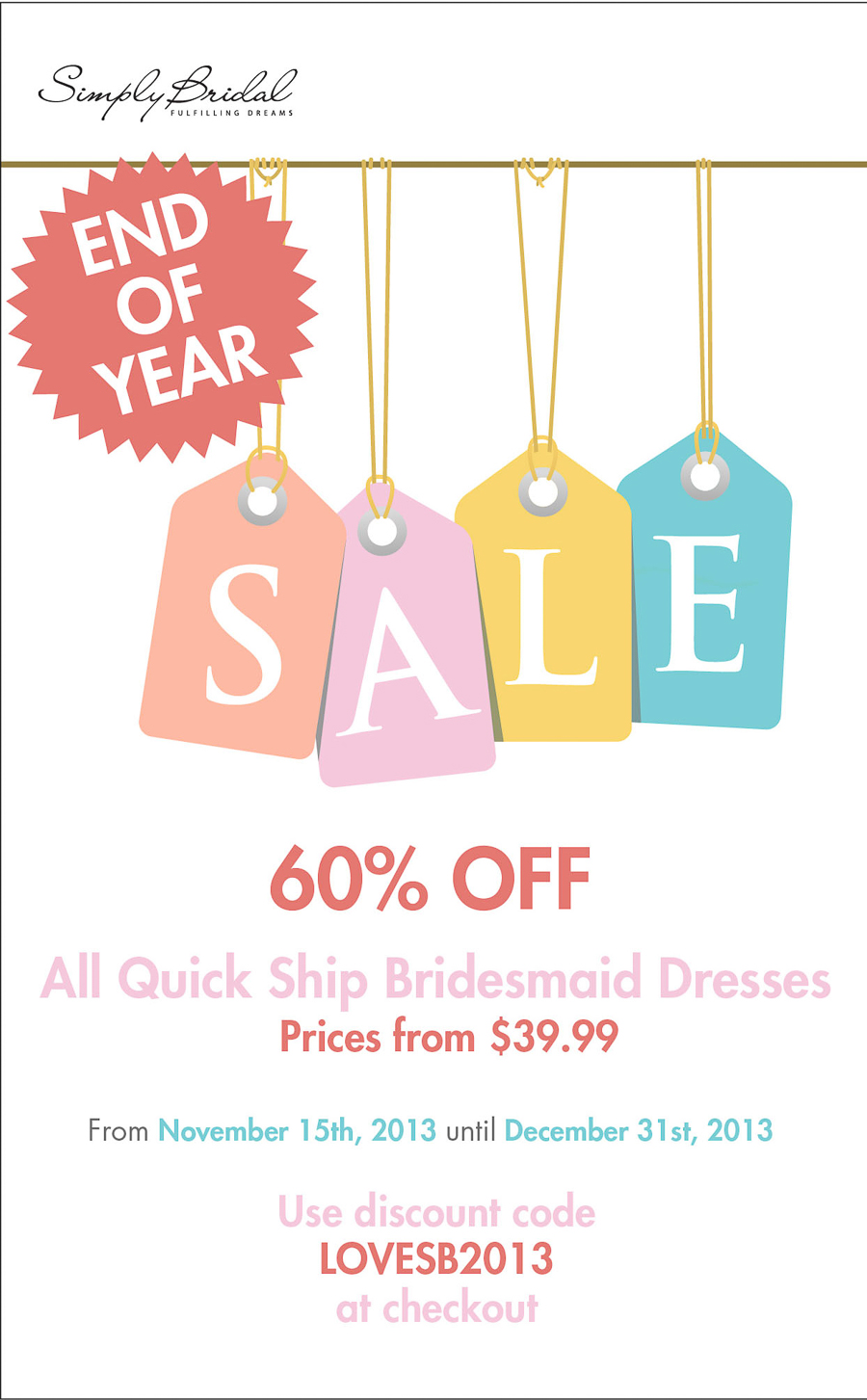 Newport Beach Wedding Photographer Simply Bridal Year End Sale