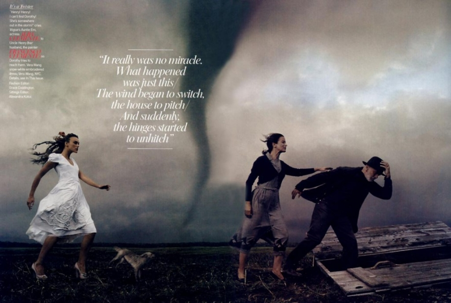 annie leibovitz dorothy wizard of oz